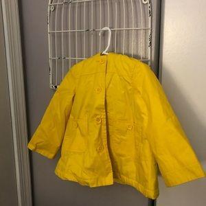 Baby Gap 4T Lined Rain Jacket